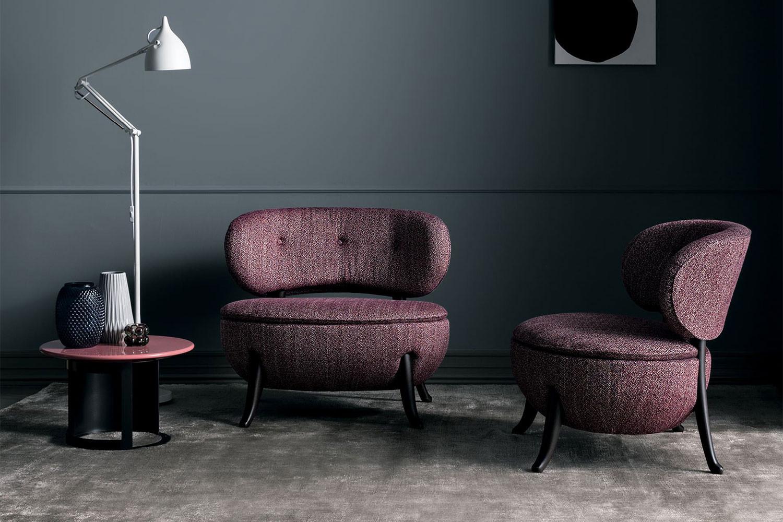 Oleandra, Original-Design-Sessel ohne Armlehnen